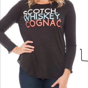 Chaser Scotch Whiskey Cognac Tee
